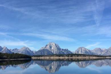 Grand Teton National Park: a place where the mountains meet the sky and allow them to intermingle for a lifetime.