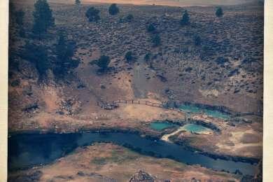 Hot Creek (thermal pool near Mammoth Airport).