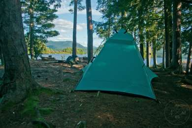 Camp on Middle Saranac Lake