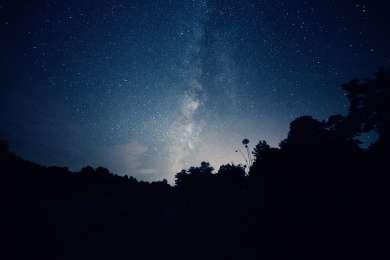 Stargazing at Mathews Arm Campground