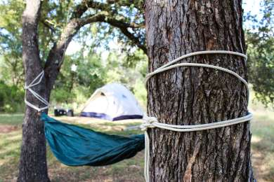 There are lots of great trees for Ham-mocking in your campground space.
