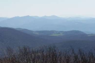 View from the top of elk knob