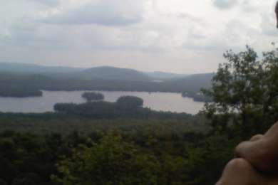 Hiked Bald Mountain on one of our excursions from the campsite.