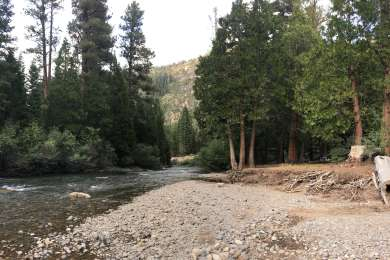 Tha Stanislaus River at Deadman's Campground