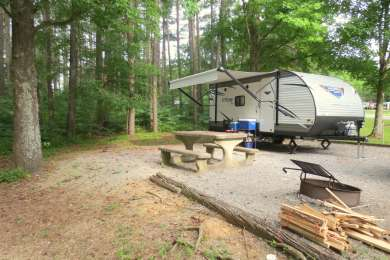Piney Campground at Land Between the Lakes National Recreation Area