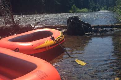 Soda Springs Campground - Little Wenatchee River