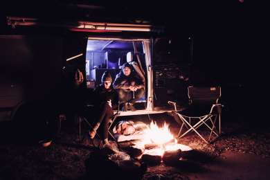 Great camping spot in Texas. Easy to do in an RV, campervan, or tent!