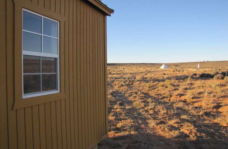 Cabin Glamping on Navajoland