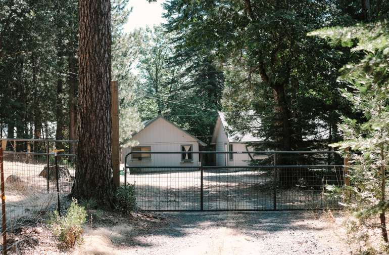 Gated home. Private and secure.