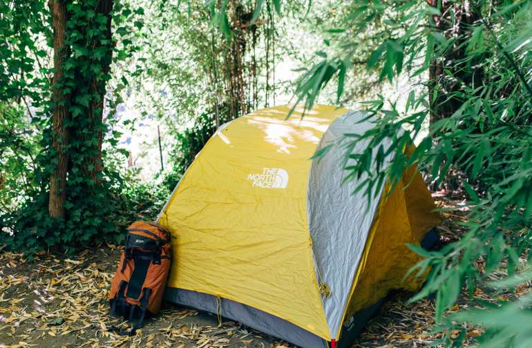 tent gear lodgong