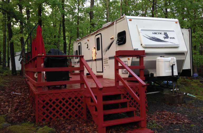Travel Trailer in Poconos!