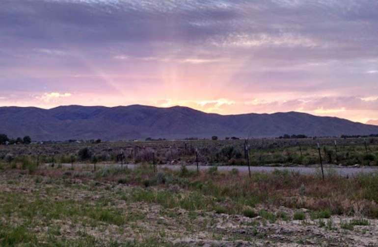 Beautiful high desert surroundings!