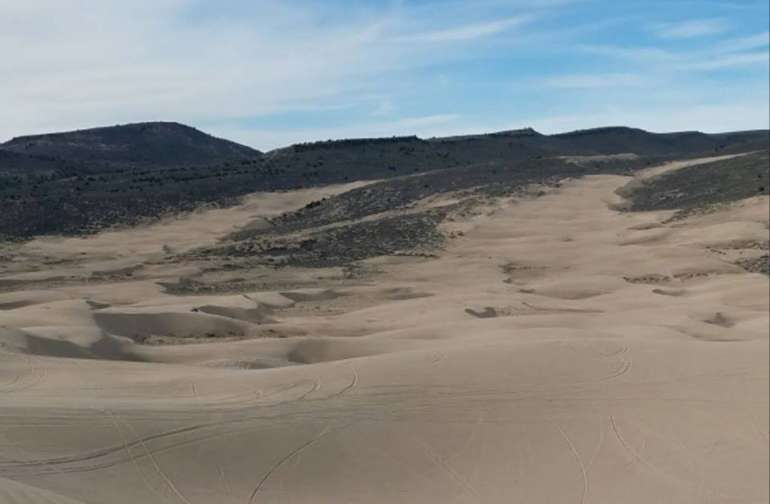 Camping at the Idaho Sand dunes is a must. With 10,600 acres of white quartz sand blown into 400-foot-high dunes, this is the ultimate playground for off-road vehicle enthusiasts.