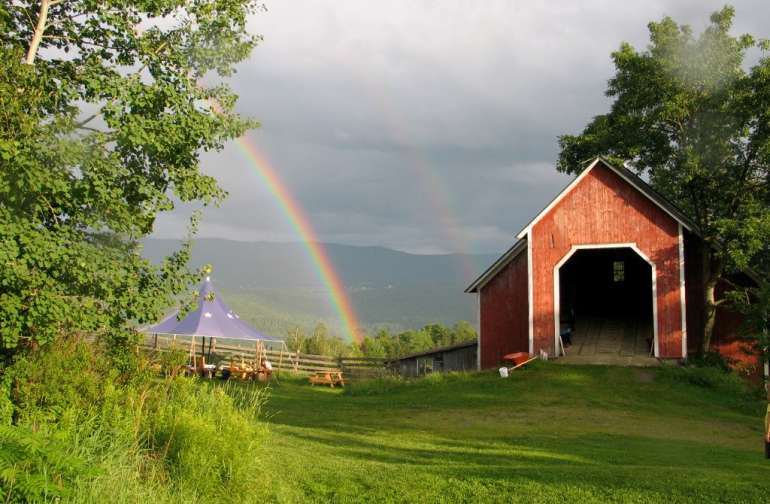 Our beautiful barn and farm are listed on the Historic Registry.