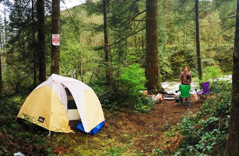 Nøgne Camping Billeder