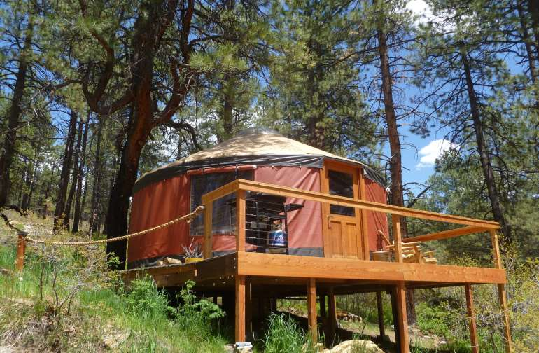 Green Sky Yurt Retreat