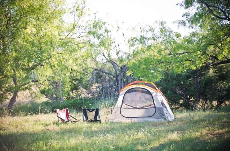 tent lodging instsgram