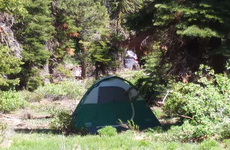 Pre set tent. Fits 3