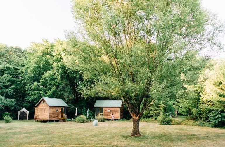 we got cabin #2 with the yellow door :)
