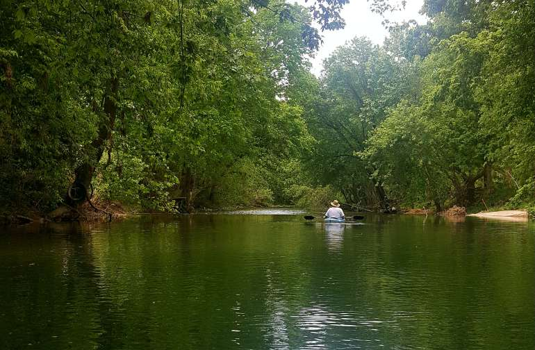 Kayak and fish in the pristine waters of Indian Creek