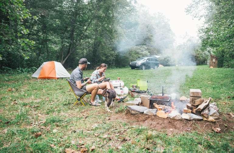 Fireside dinner!