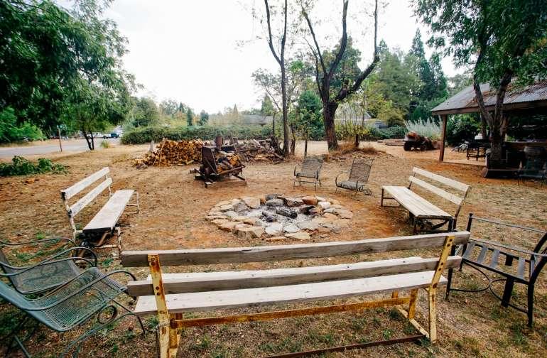 amenity fire pit