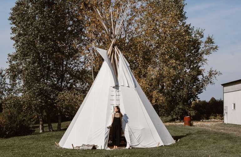 lodging teepee