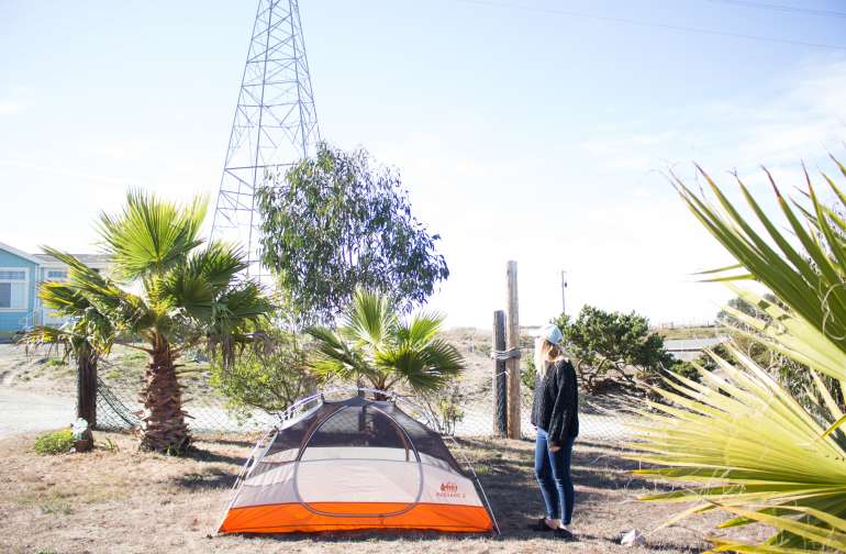 Apple Tree Tent Camp by the beach