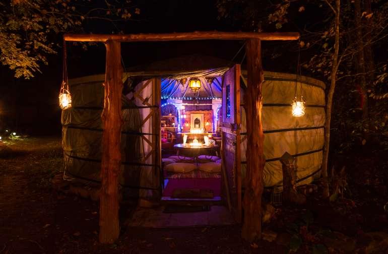 The Yurt at Viking Longhall