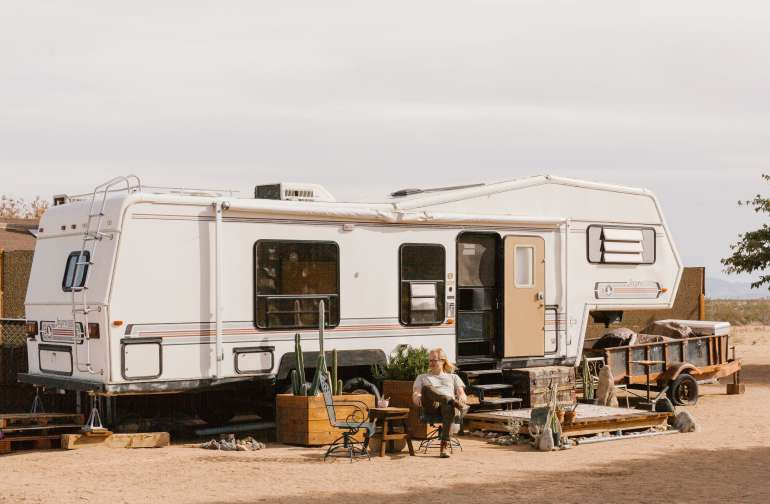 people rv lodging