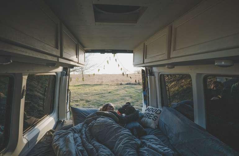 Waking up to the sunrise