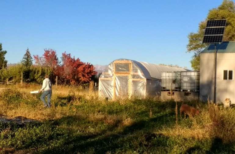 Farm in the fall.