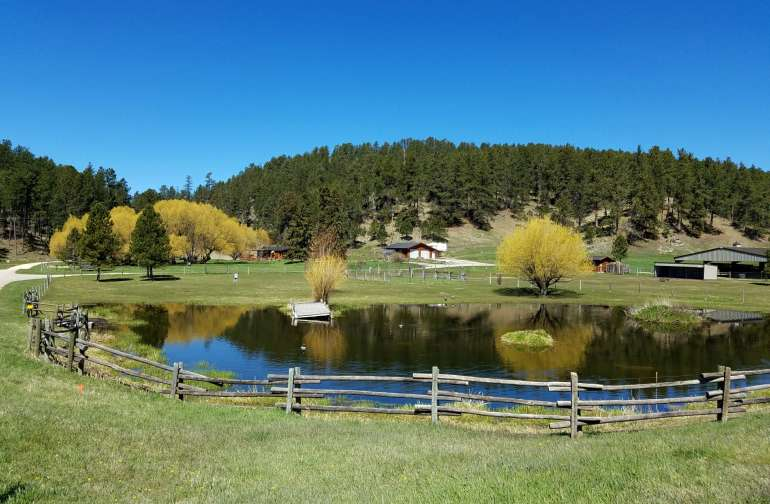 Plenty Star Ranch in the Southern Black Hills
