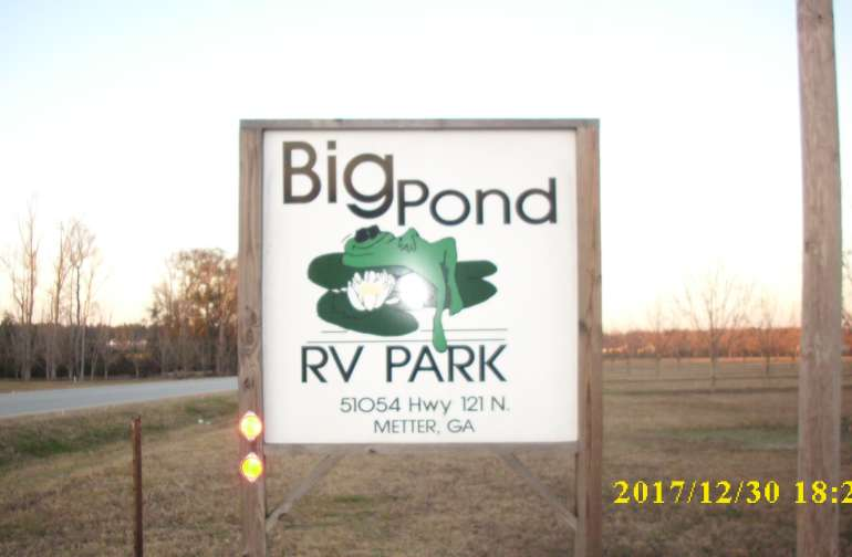 sign on highway 121.