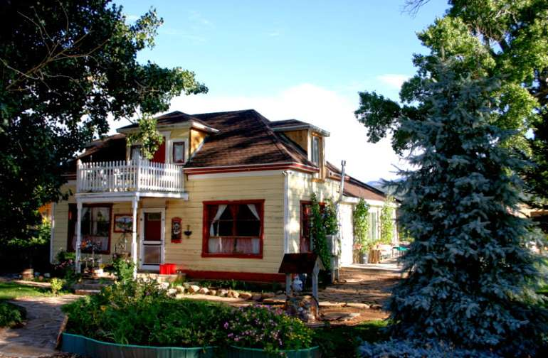 This is Tara, our 150 yr. old pioneer home.
