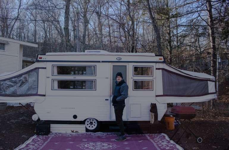 the camper!