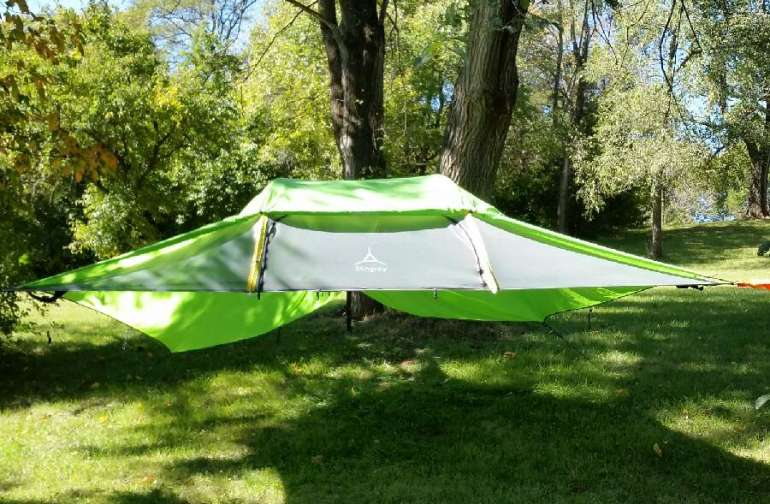 Rent the Suspended tent for the Unique Experience!
