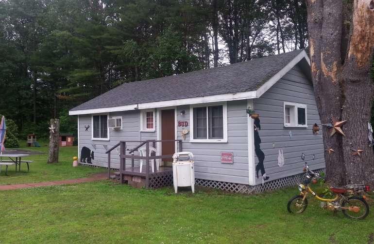 cozy cabin.