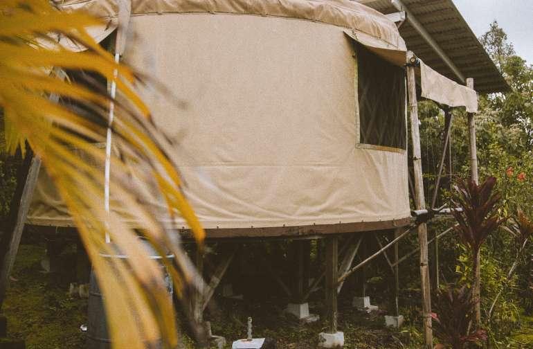 Yurt with Ocean Views