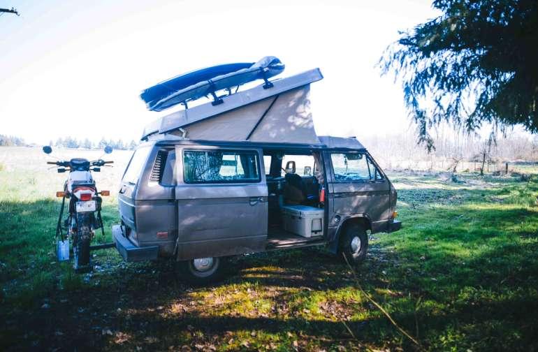 where I set camp up