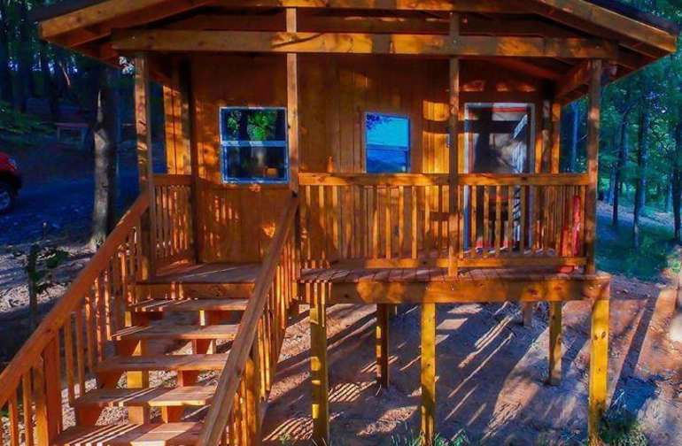 Very peaceful quiet cabin experience