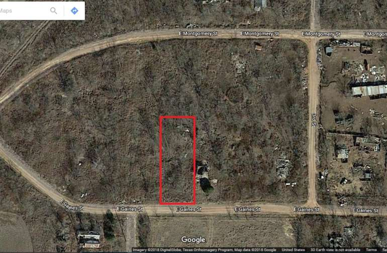 2 lots no zoning in Crowell Tx