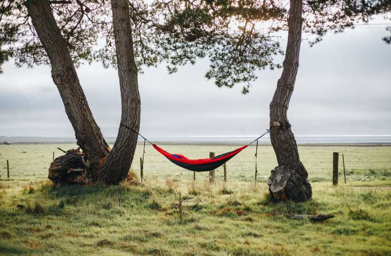 ideal place to set up a hammock
