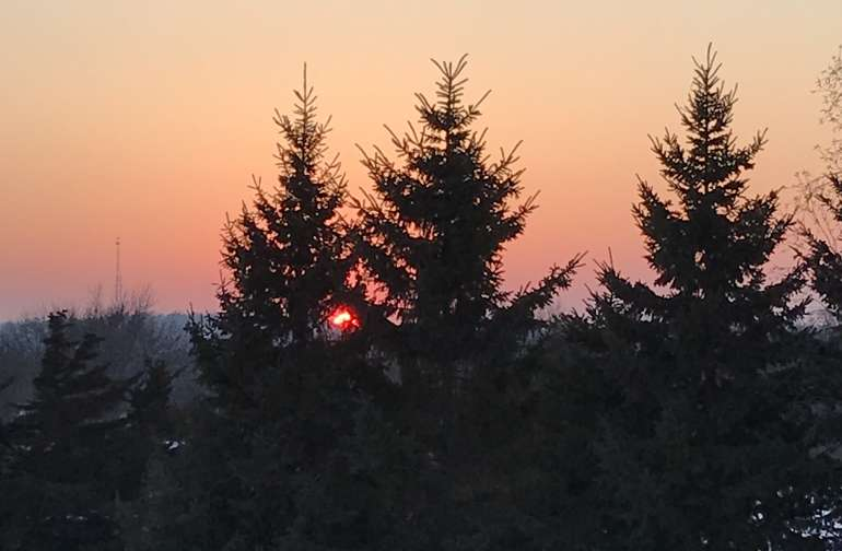 Beautiful sunsets are available at no additional cost!