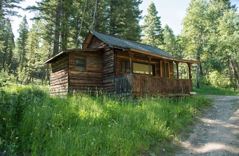 Up in the forest beyond Teachers' Cabin, two more cabins are available for those who like being still more intimate to nature. The Honeymoon Cabin offers a rustic ambiance with a front porch and room for two with a private bathroom.