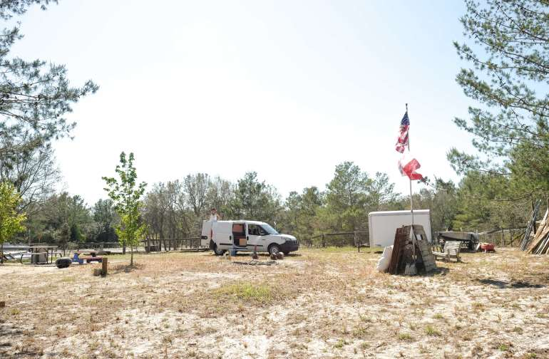 This Hipcamp had ample room for exploring and getting some fresh air!