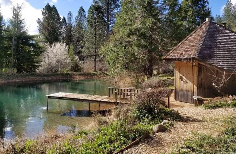 sauna dock