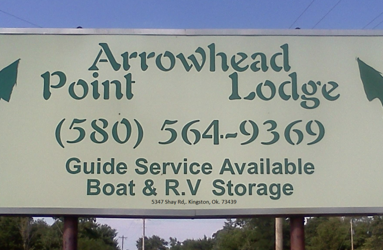 Arrowhead Point Lodge is excited to meet all our guests! Come stay and soak up the Lake Life. Life just doesn't get any better. Unless you catch that 20 lb. striper!!