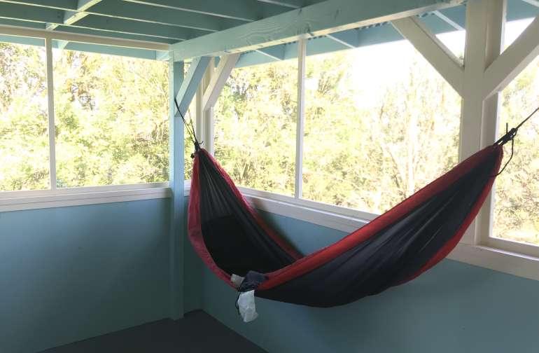 Cabin on Hawaiian Fruit Orchard