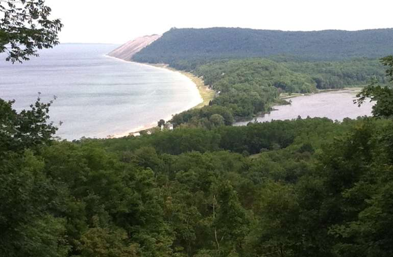 HIKING AT EMPIRE BLUFFS